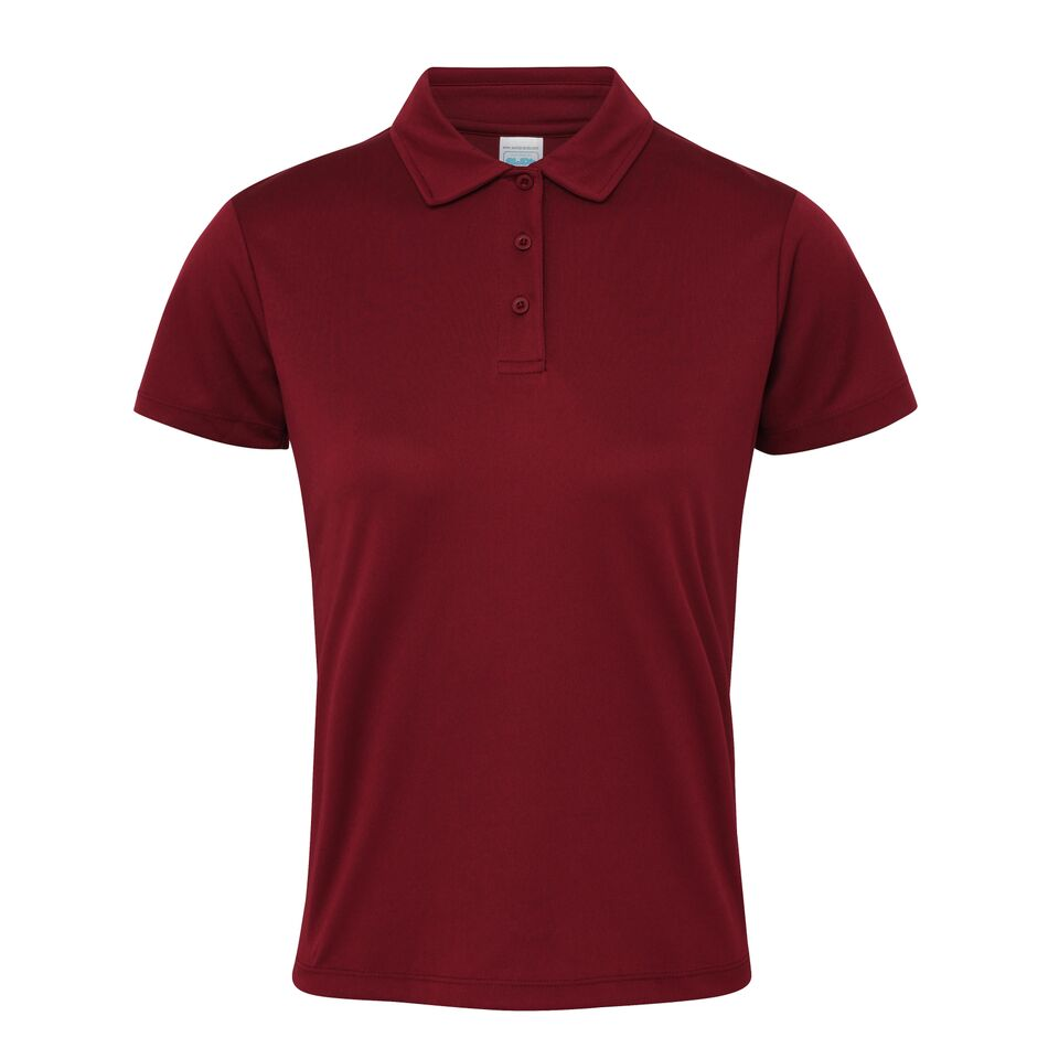 df0ab0f44b1 Ladies Fit Just Cool Embroidered Polo Shirt